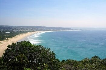 Plettenberg Bay from Robberg Nature Reserve, Garden Route