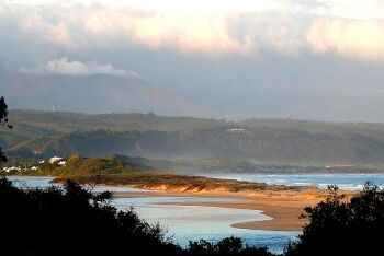 Keurboom\'s River towards Brackenburn Private Nature Reserve, Garden Route, Western Cape
