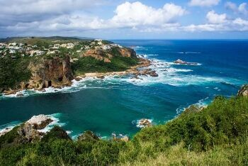 East Head, Knysna Heads from Featherbed Nature Reserve, Knysna, Garden Route