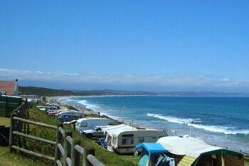 Camping in Hartenbos, Garden Route