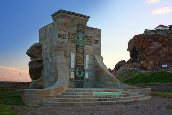 War Memorial at Mossel Bay Point, Mossel Bay, Garden Route