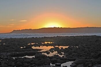 Sunset at Stilbaai (Still Bay), Garden Route, Western Cape