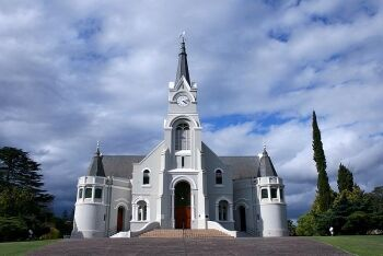 Dutch Reformed Church in Heidelberg, Garden Route, Western Cape