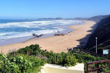 Walkway leading down to the beach at Brenton-on-Sea, Garden Route